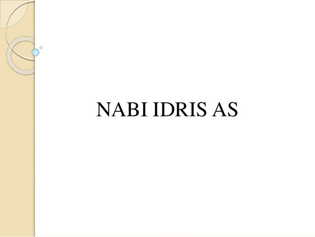 NABI IDRIS AS