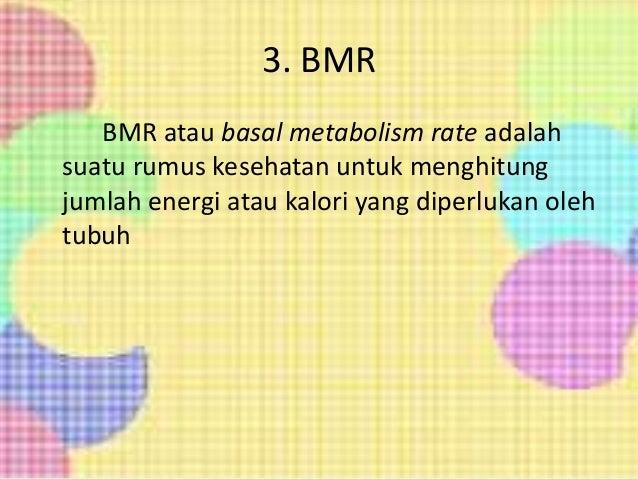 Rumus menghitung BMI
