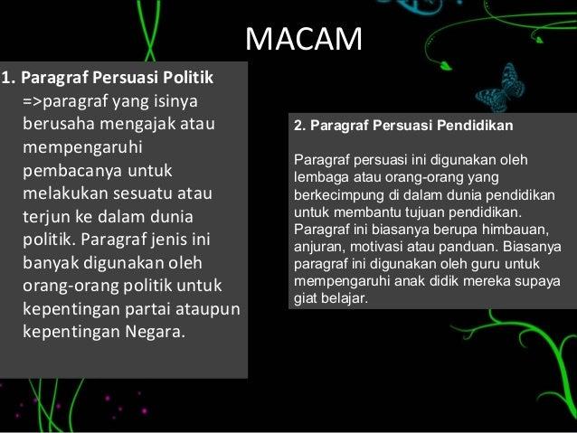 Kelompok 3 Bahasa Indonesia Paragraf Persuasi