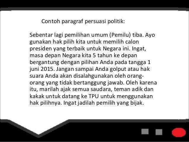 Kelompok 3-Bahasa Indonesia Paragraf Persuasi