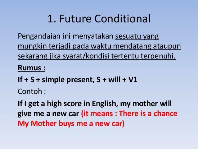 Conditional Sentences Subjunctive News Item