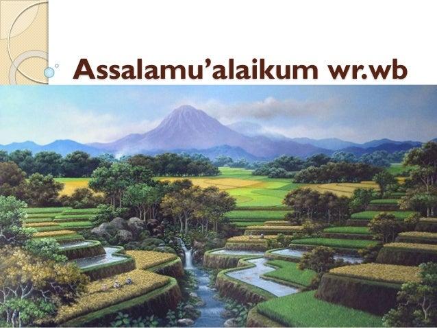 Assalamu'alaikum wr.wb