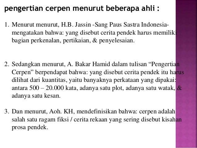Pengertian Cerpen Menurut Kamus Besar Bahasa Indonesia Pigura