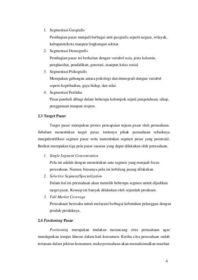 Analisis Manajemen Pemasaran Pada Pt Toyota Astra Motor Makalah