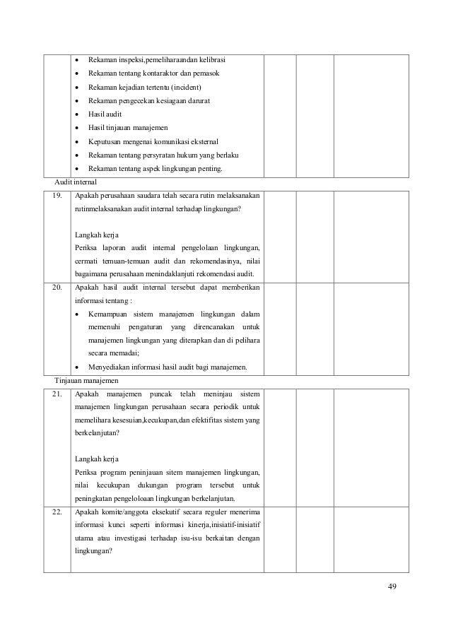 Contoh Laporan Hasil Audit Internal Perusahaan Kumpulan Contoh Laporan