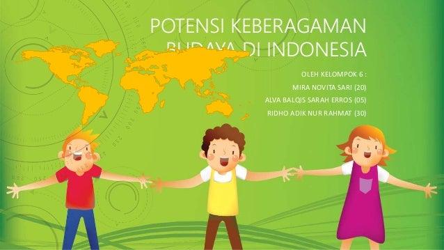 Tugas Presentasi Ips Potensi Keberagaman Budaya Di Indonesia