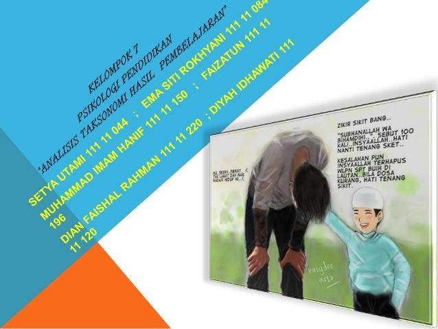 PENGERTIAN ANALISIS TAKSONOMIKamus Besar Bahasa Indonesia analisis adalah penguraian suatu pokok atas berbagai bagiannya d...