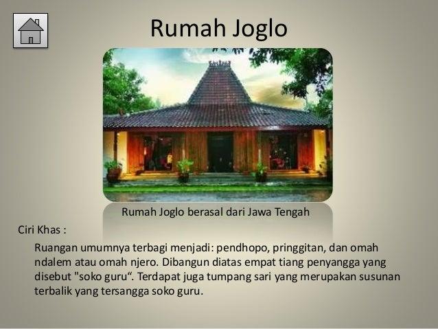 Rumah Adat Joglo Berasal Dari Rumah Joglo Limasan Work