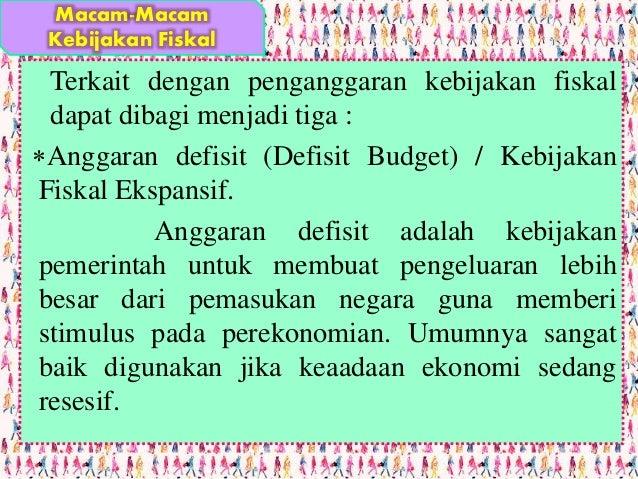 Jurus Pemerintah Turunkan Defisit Anggaran