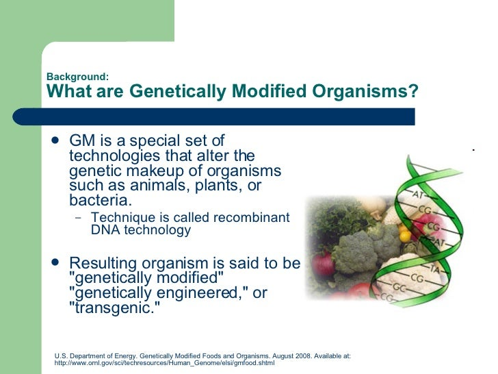genetically modified food is necessary in A potentially useful technology, genetically engineered or modified food has been pushed through the us and increasingly around the world very quickly without enough time to test and reassure people that this is safe (and rushing it into the market could make it unsafe).