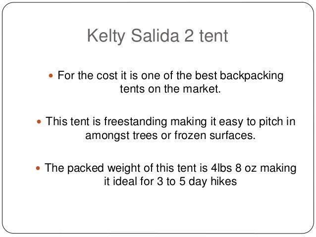 ... Salida 2 tent was voted 2011 Backpacker Editoru0027s Choice Award; 2.  sc 1 st  SlideShare & Kelty salida 2 tent
