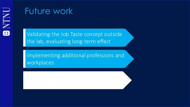 Immersive Job Taste: a Concept of Demonstrating Workplaces with Virtual Reality