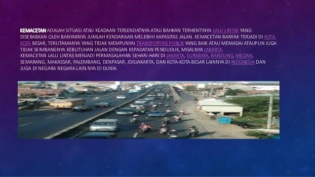 Kemacetan Slide 3