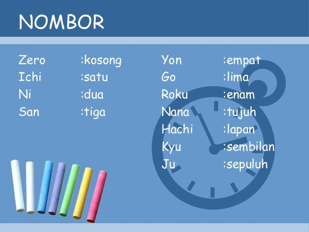 Bahasa Jepun