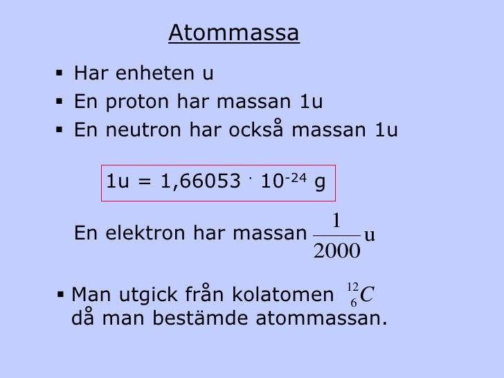 Kemiska beräkningar Slide 2