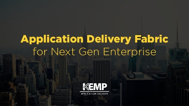 Application Delivery Fabric 