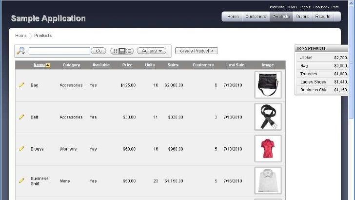 Product List Html Template - Mazken