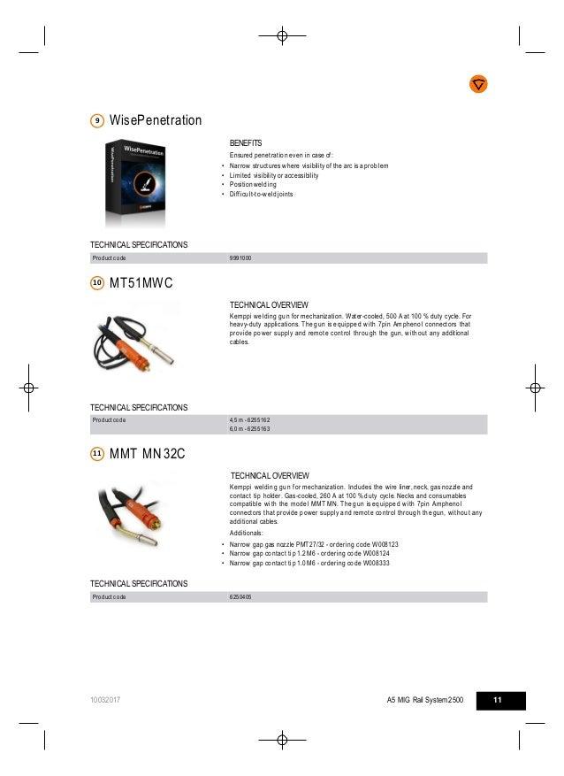 Kemppi Mechanized Welding Catalogue - German Gulf Enterprises Ltd