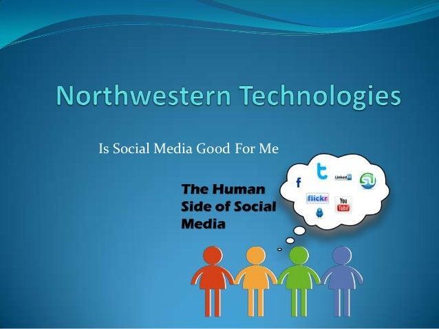 Is Social Media Good For Me