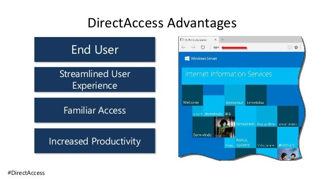 Microsoft DirectAccess Remote Access (VPN) with Windows 10