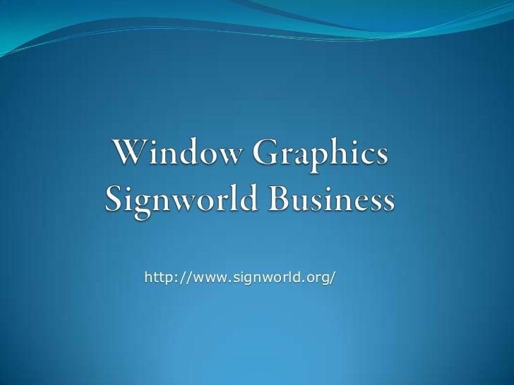 http://www.signworld.org/