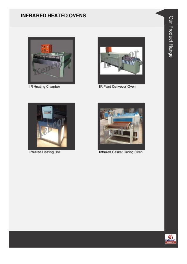 INFRARED HEATED OVENS IR Heating Chamber IR Paint Conveyor Oven Infrared Heating Unit Infrared Gasket Curing Oven Our Prod...