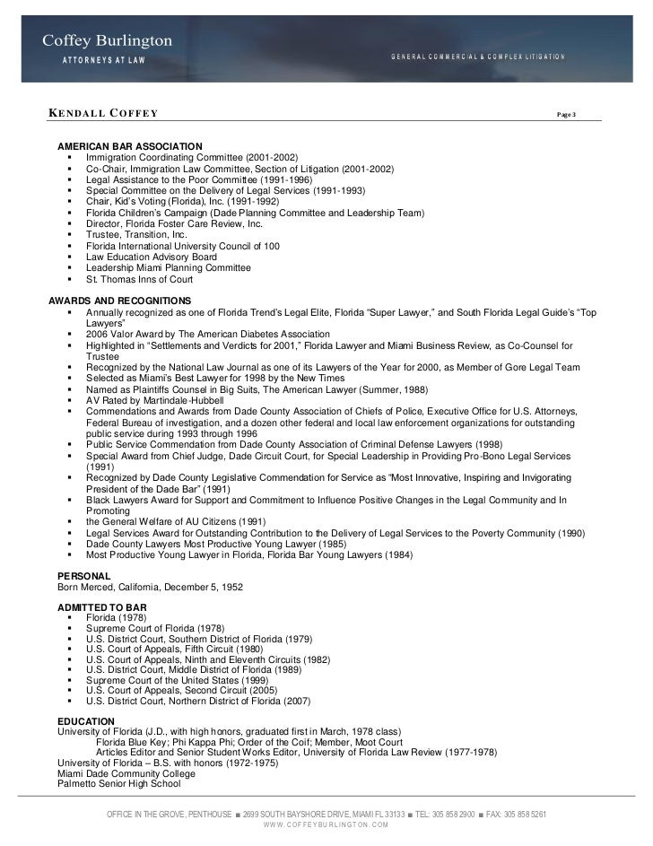 Order Of The Coif Resume - resume order of the coif