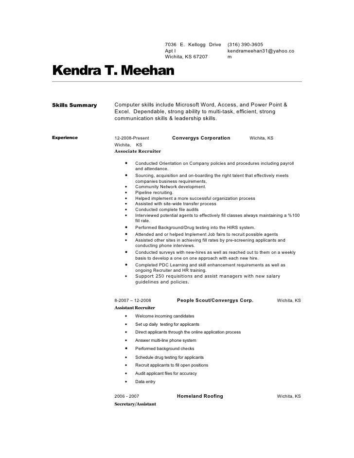 Kendra 20 Meehan 20resume 1