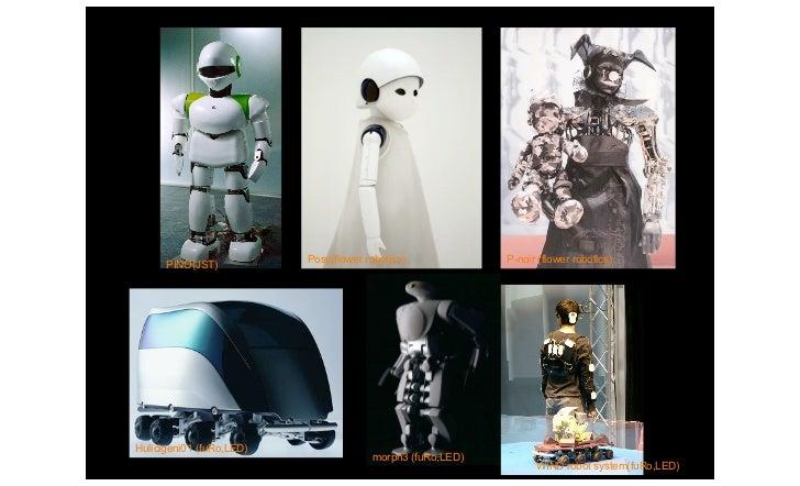MIT Media Lab                  PINO(JST)           Posy(flower robotics)            P-noir (flower robotics)            Hu...