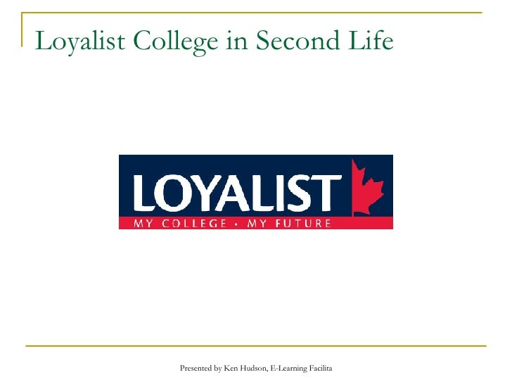 Loyalist College in Second Life