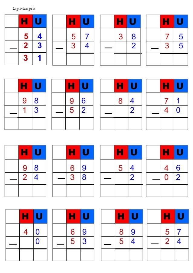 Laguntza gela — H U 5 4 2 3 3 1 H U 9 8 1 3 — — — — — — — — — — — — — — — H U 5 7 3 4 H U 3 8 2 H U 7 5 3 5 H U 9 6 5 2 H ...