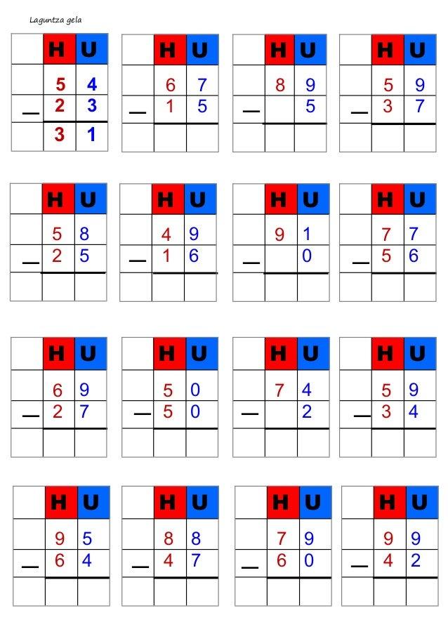 Laguntza gela — H U 5 4 2 3 3 1 H U 5 8 2 5 — — — — — — — — — — — — — — — H U 6 7 1 5 H U 8 9 5 H U 5 9 3 7 H U 4 9 1 6 H ...
