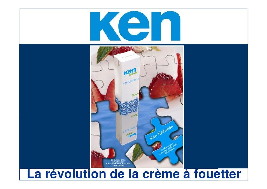 La révolution de la crème à fouetter