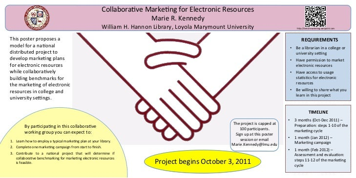 Collaborave Markeng for Electronic Resources                                                                         Marie...
