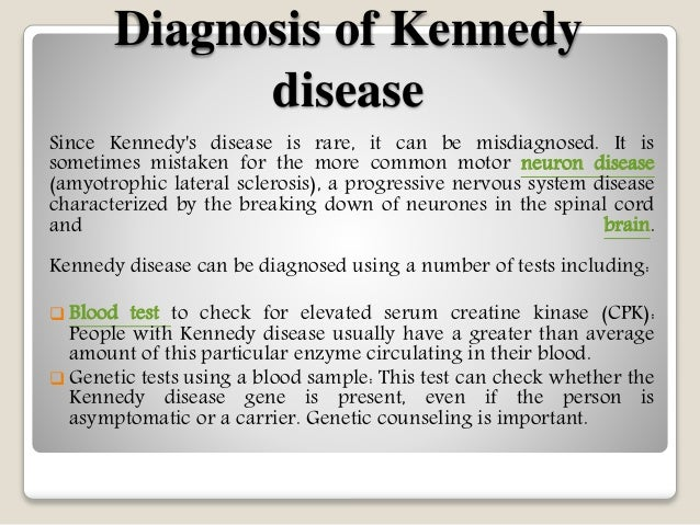 Kennedy disease symptoms causes diagnosis and treatment for Motor neuron disease symptoms early