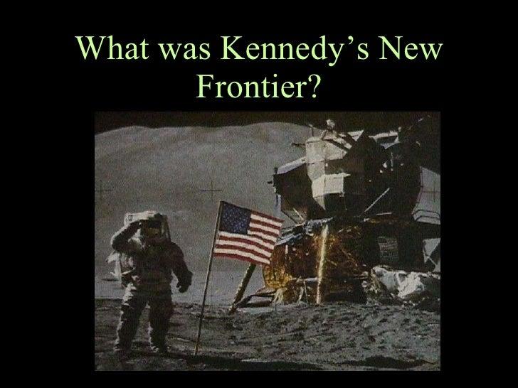 Kennedys new frontier program essay