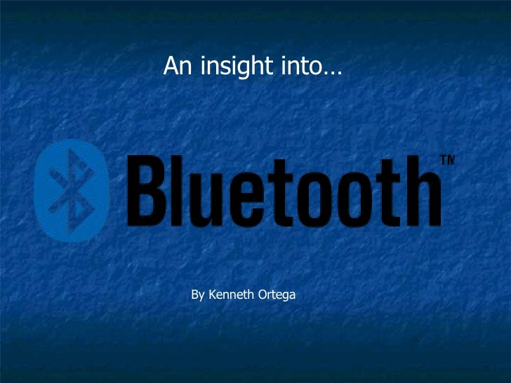 An insight into… By Kenneth Ortega