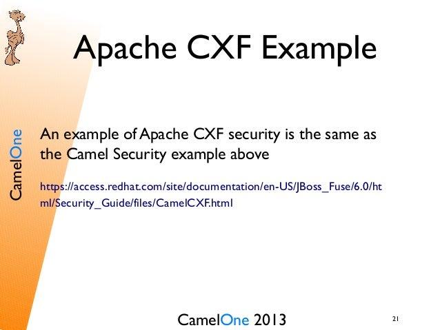 Camelone 2013 karaf a mq camel cxf security 21 21camelone 2013cameloneapache cxf examplean example malvernweather Choice Image