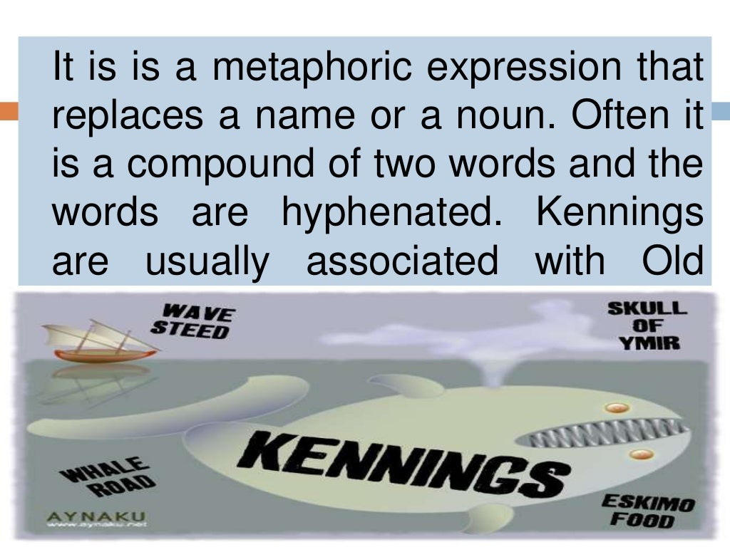 Kennings And Examples