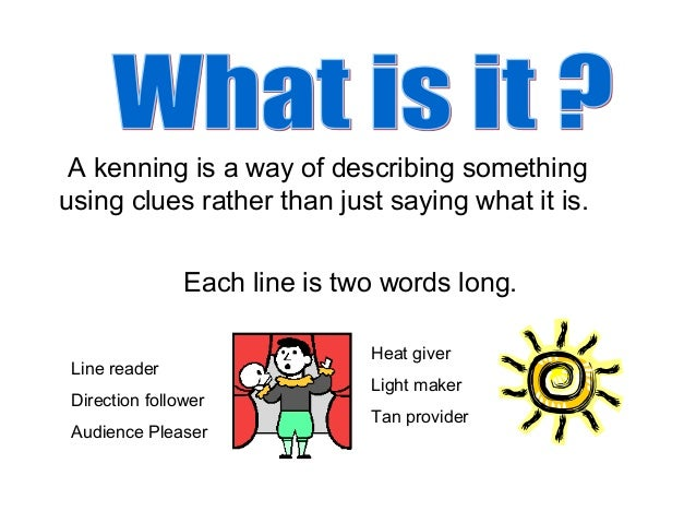 kenning examples