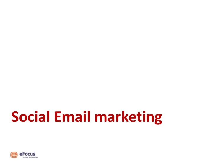 Kennissessie Hoe social media e-mail marketing kan versterken