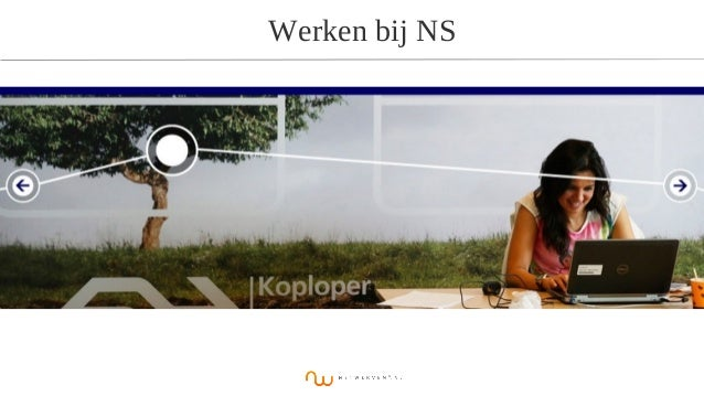 Werken bij NS Netwerven