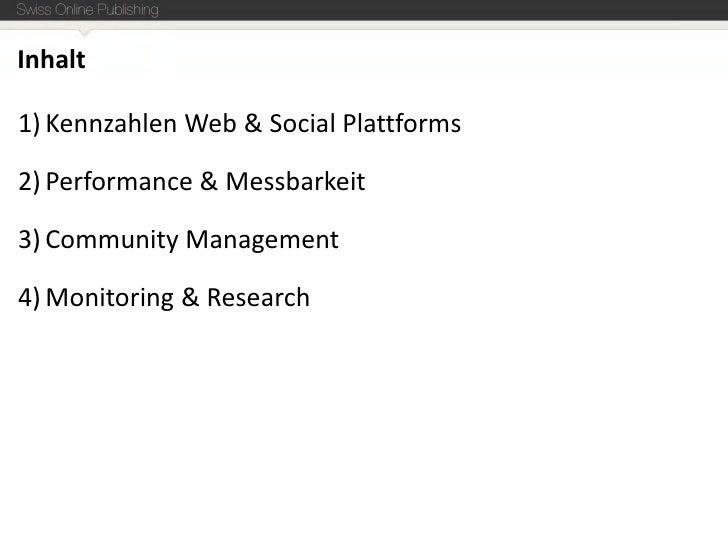 Social Media Kennzahlen, Reporting und Monitoring Slide 2