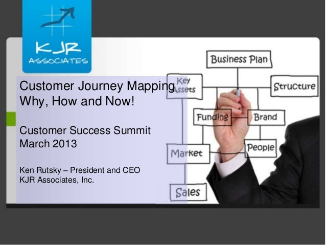 Customer Journey MappingWhy, How and Now!Customer Success SummitMarch 2013Ken Rutsky – President and CEOKJR Associates, Inc.