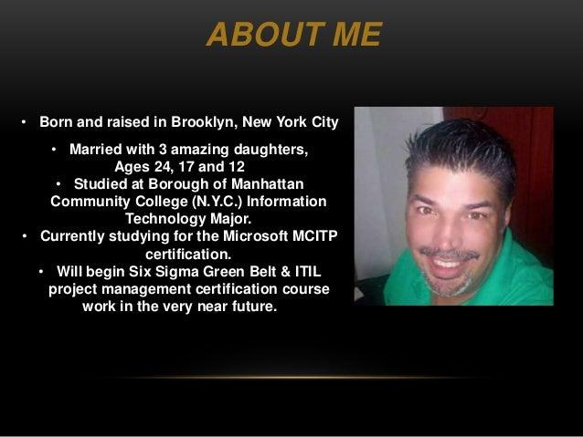 Ken Rivera Get To Know Me Presentation