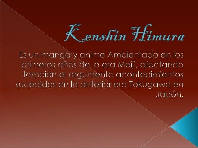 Kenshin himura. horacio german garcia