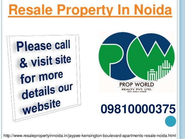Jaypee kensington boulevard resale price 09810000375 for Best flooring for resale value