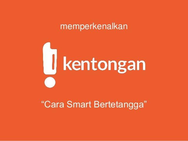 """memperkenalkan """"Cara Smart Bertetangga"""""""