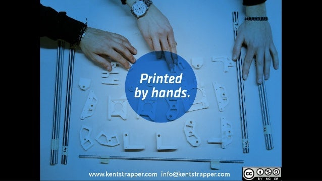 Printed by Hands by Lorenzo Cantini