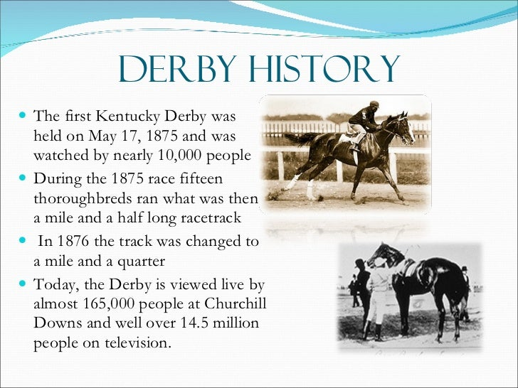 Image result for first kentucky derby
